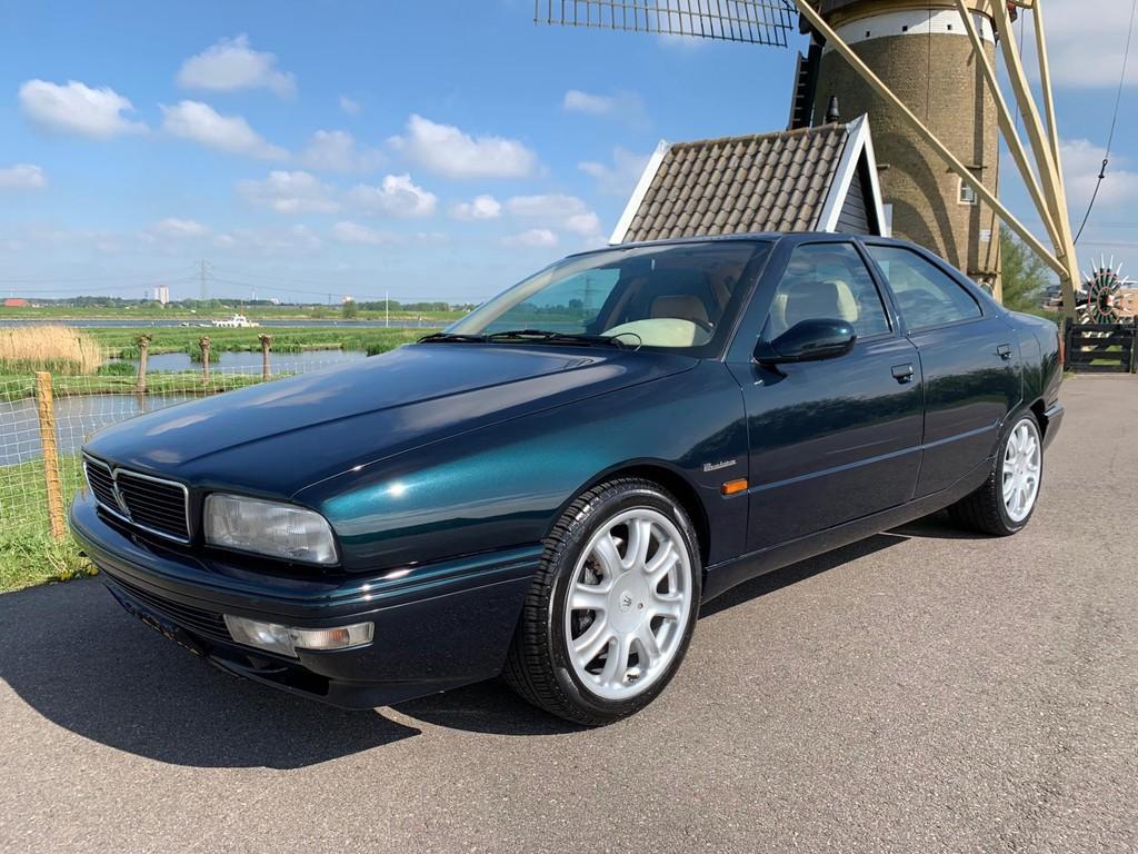 Maserati Quattroporte V8 BI-TURBO 335PK! EVOLUZIONE 256 ...