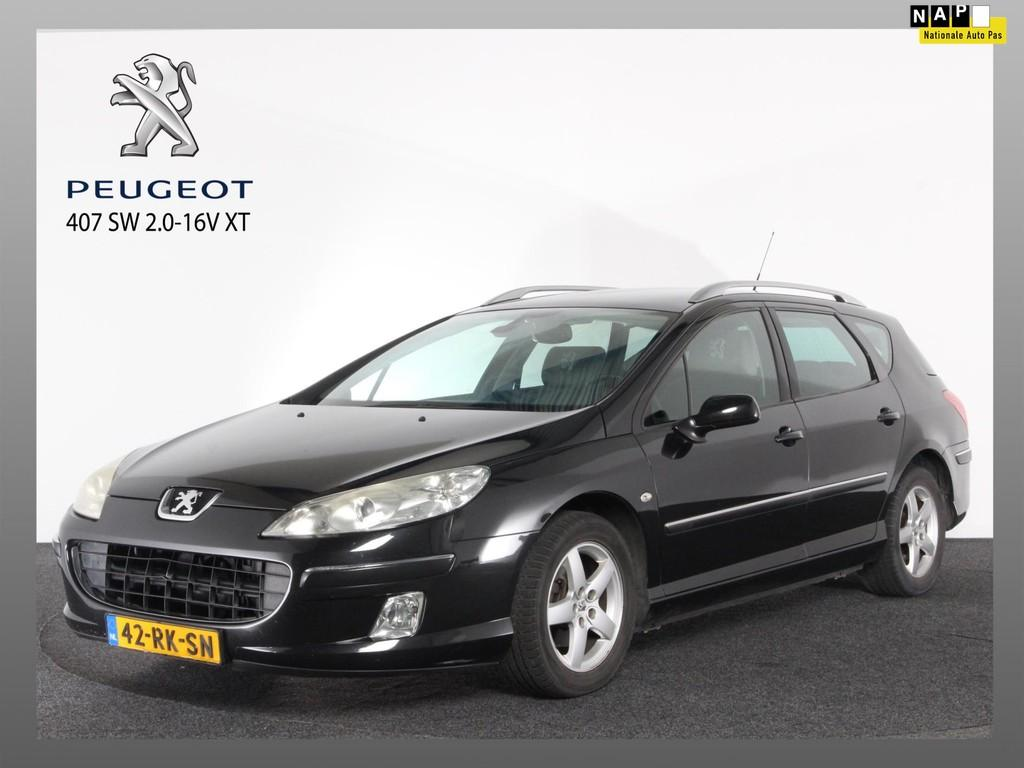 Peugeot 407 Sw 20 16v Xt Automotive Trade Center